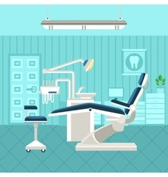 Dental room poster vector