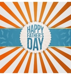 Holiday graphic element for fathers day vector