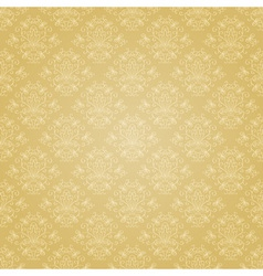 Golden ethnic festive pattern vector image