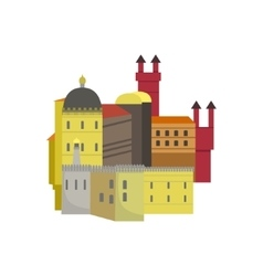Old Town Architecture Portuguese Famous Symbol vector image vector image