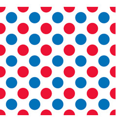 Polka dots pattern vector