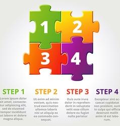 Threepuzzle vector