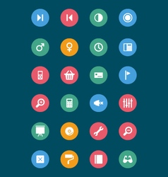 Web and mobile icons 5 vector