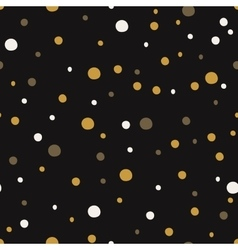 Seamless pattern with dot christmas backgrounds vector