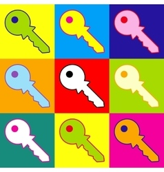 Key sign vector