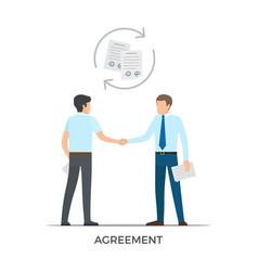Agreement between people on vector