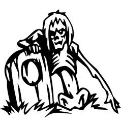 dead - halloween set - vector image vector image