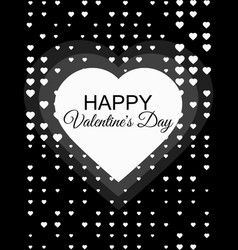 happy valentines day 14 february halftone dotted vector image vector image