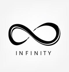 Infinity symbol sign vector