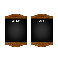 Restaurant Menu Board Set vector image vector image