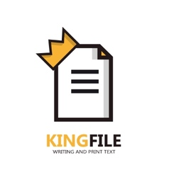 File logo document icon vector