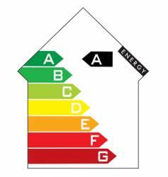 energy house vector image