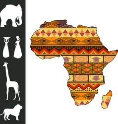 Africa design vector image