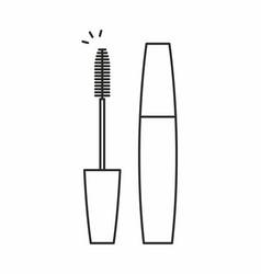 mascara for eyelashes icon vector image vector image