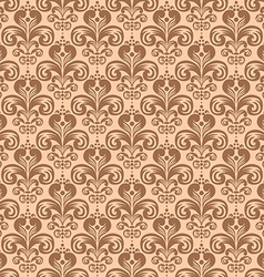 Stylish vintage floral seamless pattern victorian vector
