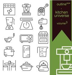 kitchen universe volume 3 vector image