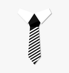 necktie business style vector image