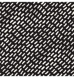 Seamless hand drawn diagonal dash lines vector