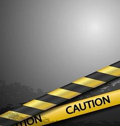 Warning tape vector