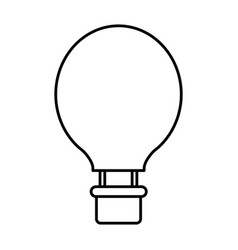 Air balloon icon vector