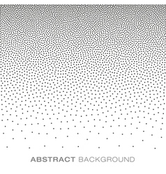Abstract gradient halftone dots background vector