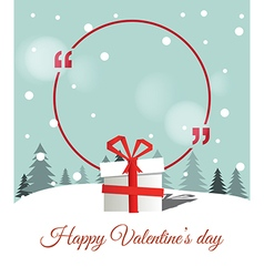 Copy space for valentines day vector