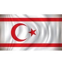 Flag of Northern Cyprus vector image
