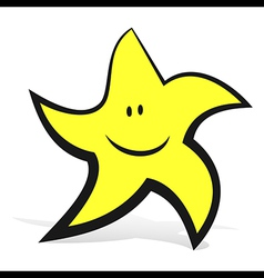 Smiling Star vector image