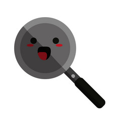 Kawaii pan icon image vector