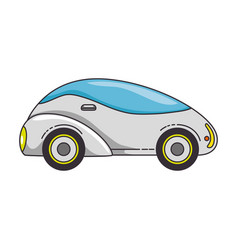 modern car futuristic icon vector image