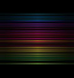 Rainbow stripe metal vector
