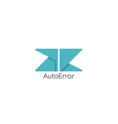 Abstract initial letter a e ae logo concept vector
