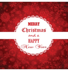christmas and new year background 1511 vector image vector image