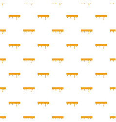 Dripping down honey pattern vector