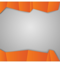 Orange squares vector image vector image