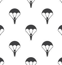Parachutist seamless pattern vector