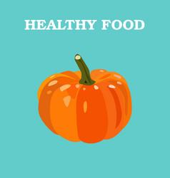 Pumpkin flat pumpkin logo pumpkin icon vector