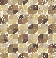 Vintage textured parquet seamless background vector image vector image