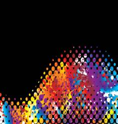 Halftone rainbow wave vector