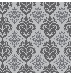 Arabic style damask pattern vector