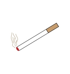 Smoke design element vector image