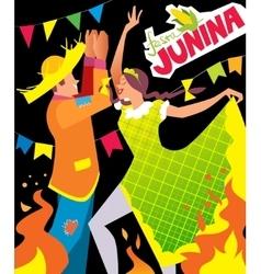 Festa junina poster vector