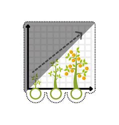 Plant of money vector