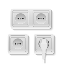 Power socket vector