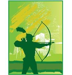 Archer design vector