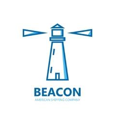 Logo lighthouse vector
