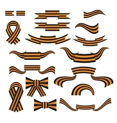 St george ribbon color web icon vector