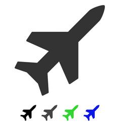 Aeroplane flat icon vector