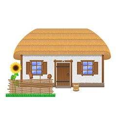 Ancient farmhouse 02 vector