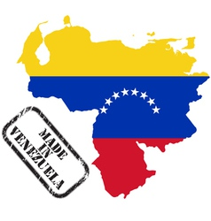 Made in venezuela vector
